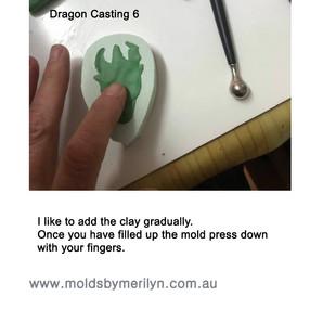 Dragon casting