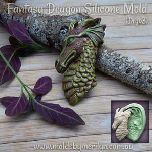 Silicone Mold No. Drgp3 The Fantasy Drag