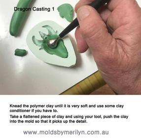 Dragon casting 1
