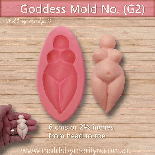 G2 - Large Goddess  Flexible Push Mold