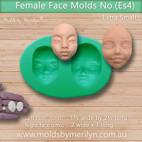 Es4 - Two extra small face molds