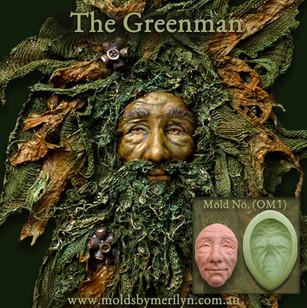 Greenman silicone Mold No. Om1