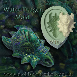 Water Dragon silicone mold