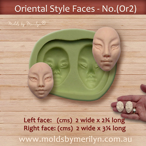 Or2 - Oriental style face mold