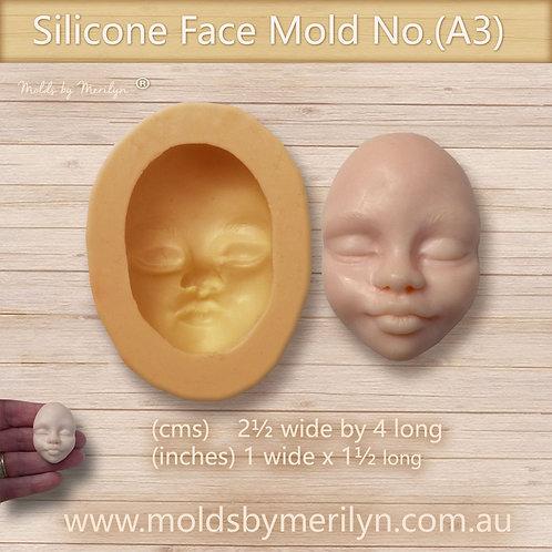 A3 - Ethnic child flexible  push mold