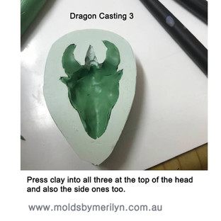 Dragon casting 3