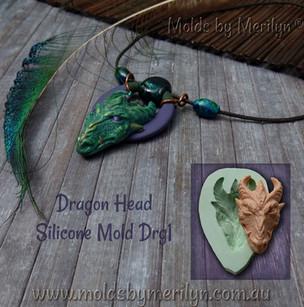Dragon Pendant Silicone Mold
