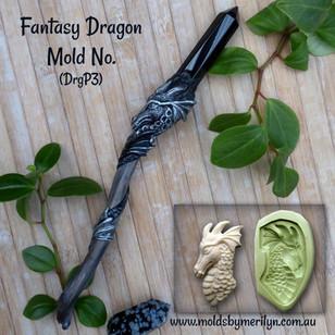 Dragon Wand with Crystal