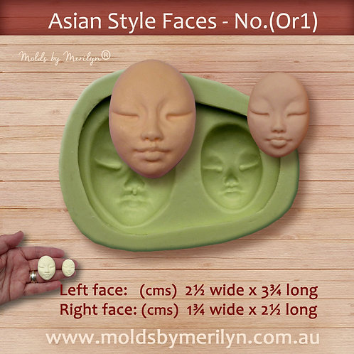 Or1 - Asian style face mold