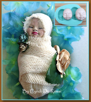 Polymer Clay Baby Tutorial.