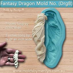 DrgB - Fantasy dragon body mold