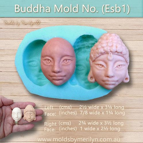 Esb1 - Two Buddha style faces