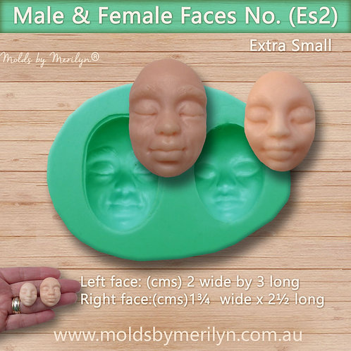 Es2 - Male and female flexible face molds
