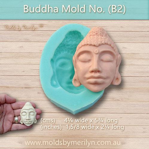 B2 - Buddha style face mold