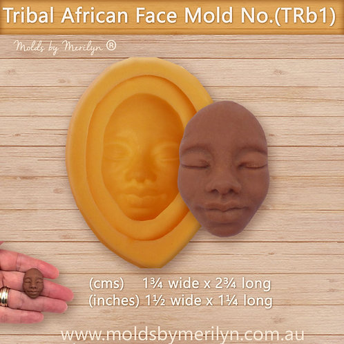 TRb1 - Tribal African face mold