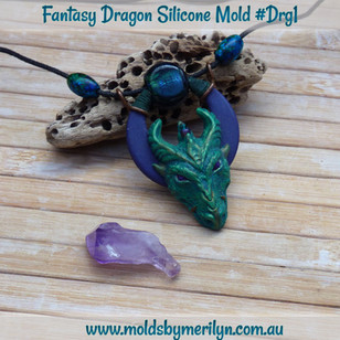 Fantasy Dragon Head Pendant
