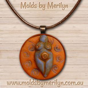 Small Goddess Pendant