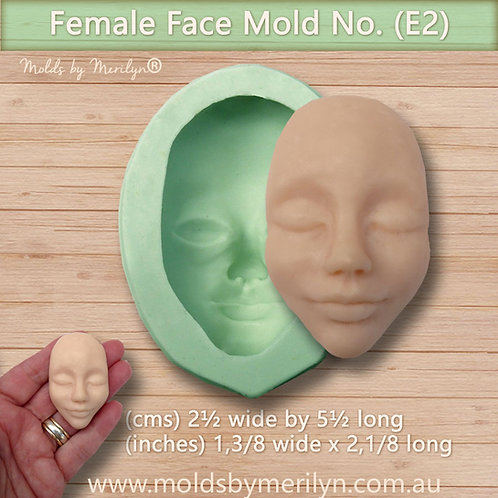 E2 - Female push mold face - medium