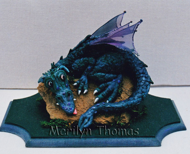 Small dragon in polymer Clay.jpg
