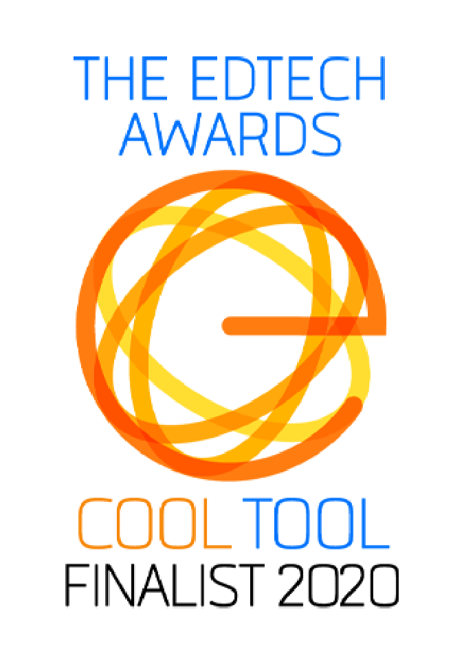The EdTech Awards Finalist Badge - AI Solution.