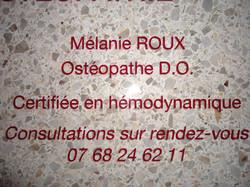 Cabinet d'ostéopathie PSB