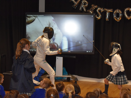 Falcon School for Girls enjoyed a demo with Julianna as guest speaker