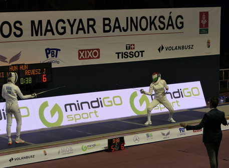 Julianna won Silver with the team event, and placed 10th at the Hungarian National Championships