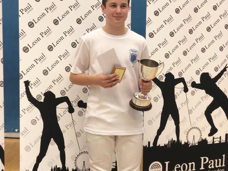 Alec won the Public School Fencing Championship and Osborn placed 6th