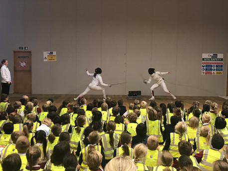 Demo session at Knightsbridge School