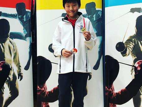 Cheyne Won Gold at London Region U14