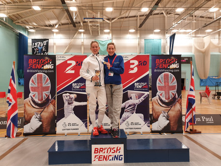 Avery Wins Gold at the British Championships 2019