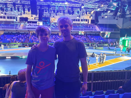 Tamas and Cador is at the World Championships in Budapest.