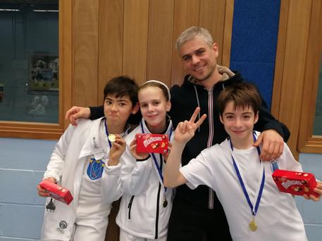Gold medal at LPJS Brixton Team U11!