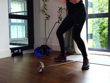 Online Fitness Fencing Class continues throughout the term