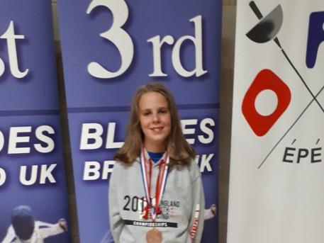 Cador Wins Bronze at Elite Epee Moulton College