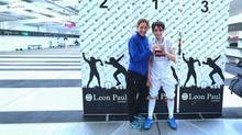 3 Gold, 1 Silver, 1 Bronze medals at the Leon Paul Competition