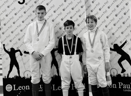 Luca wins silver at ISA National Championship on his very first fencing tournament!