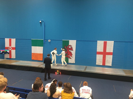 Sophia Won Gold at the Youth 5 Nations Tournament 2018 in Cardiff