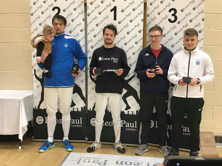 Tord wins Bronze medal at Merseyside Open 2018!