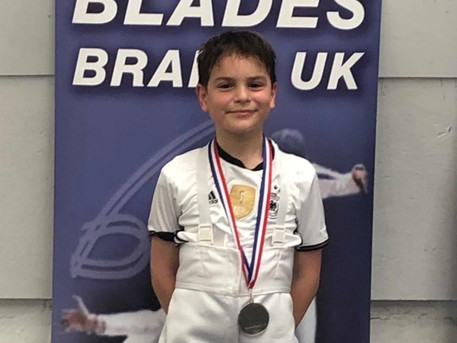Timur Wins Silver at Elite Epee Newcastle