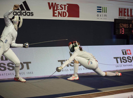 World Silver Medalist, Tamara Gnam will join our Oct fencing camp