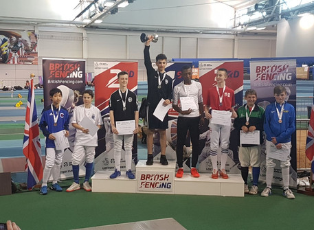 Alec 5th at British Youth Championship 2018 in Sheffield!