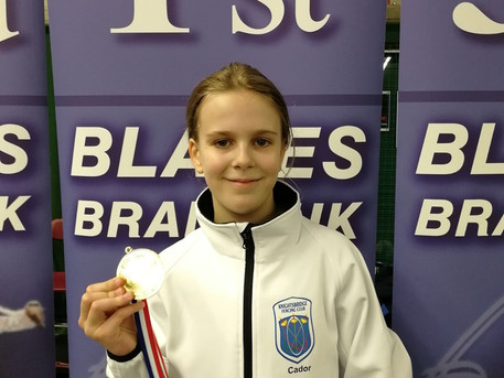 Cador starts the season with gold at Elite Epee series 1