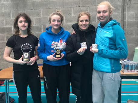 Sophia wins gold at East of Ireland Open 2018, UCD!