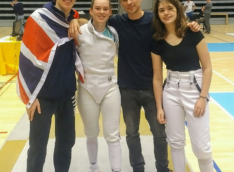 Avery, Josh and Sophia qualified for the cadet European and World Championship 2018