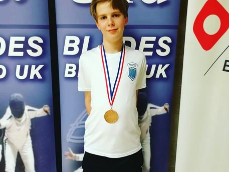 Cador Wins Bronze at Elite Epee Surrey 2019