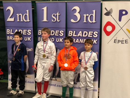 Timur Wins Bronze at Elite Epee in Millfield