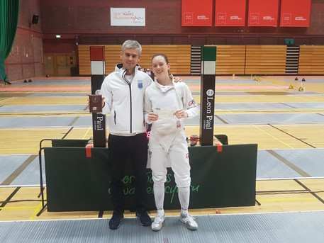 Avery Wins Silver at the Cardiff Open