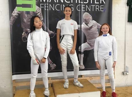 Charlotte wins bronze at Leon Paul junior event U13 in Manchester