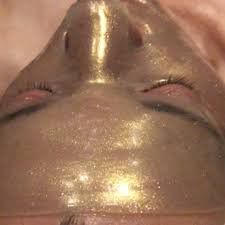 Allure Coromandel ultravine gold facial.